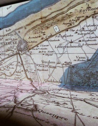 ...ici la Flandre, territoire stratégique, vient s'étaler jusqu'à vos pieds !