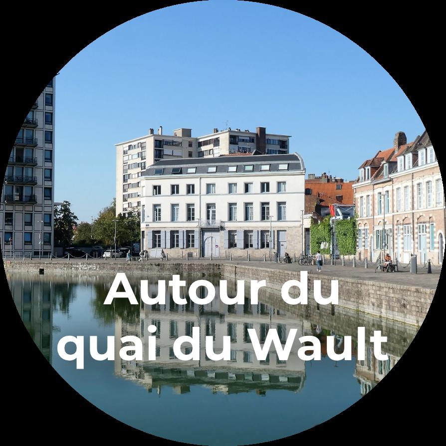 visite guidée Lille - Autour du quai du Wault